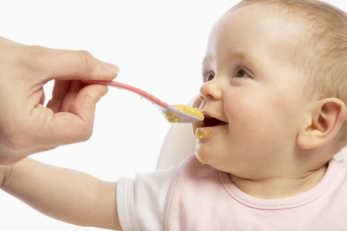 схема питания во время кормления