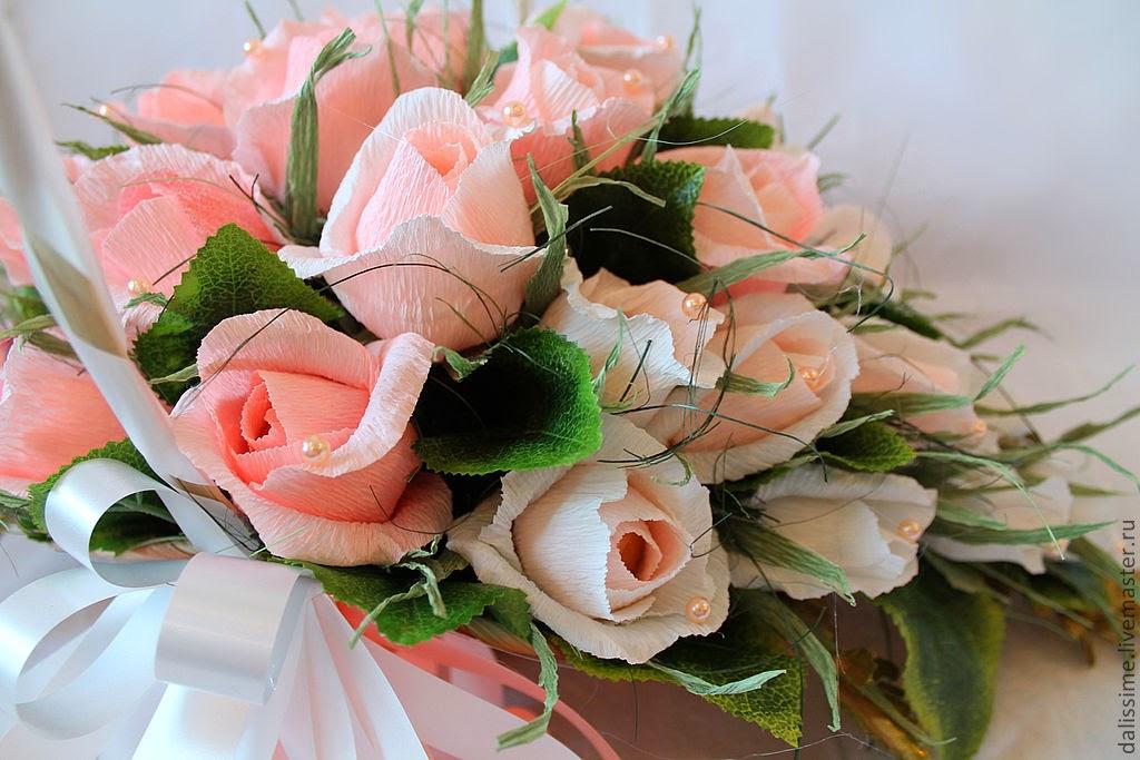 Конфетные букеты из роз своими руками мастер класс