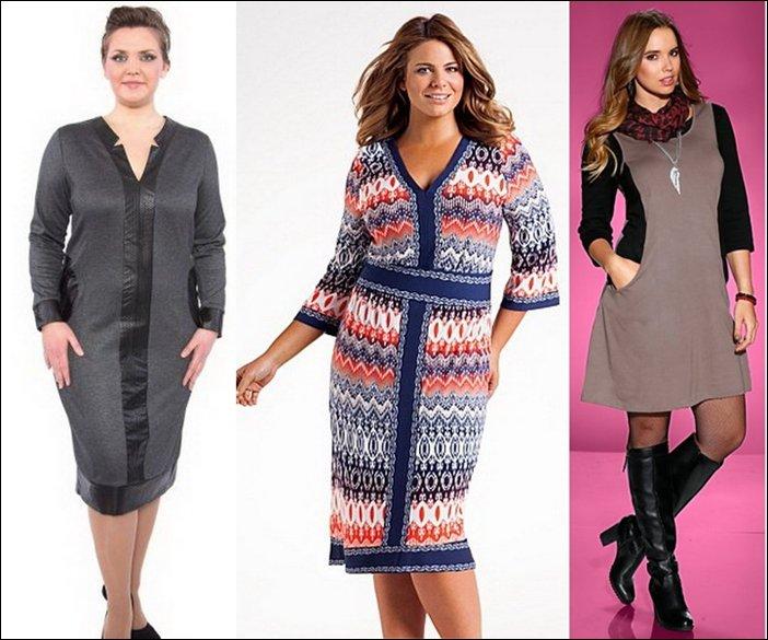 Фасоны Одежды Для Полных Женщин С Животом