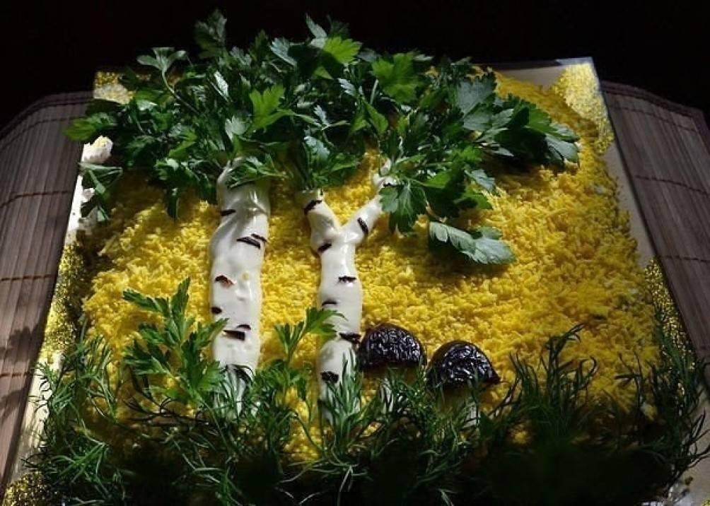 Салат берёзка рецепт с