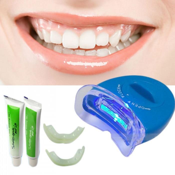 Отбеливание зубов китайским гелем
