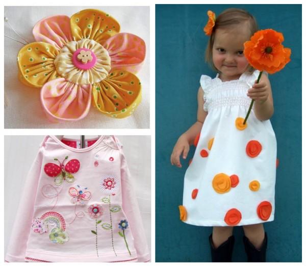 Украшения для платья детского своими руками 65