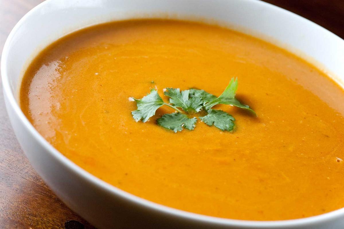 Суп пюре с тыквой рецепт