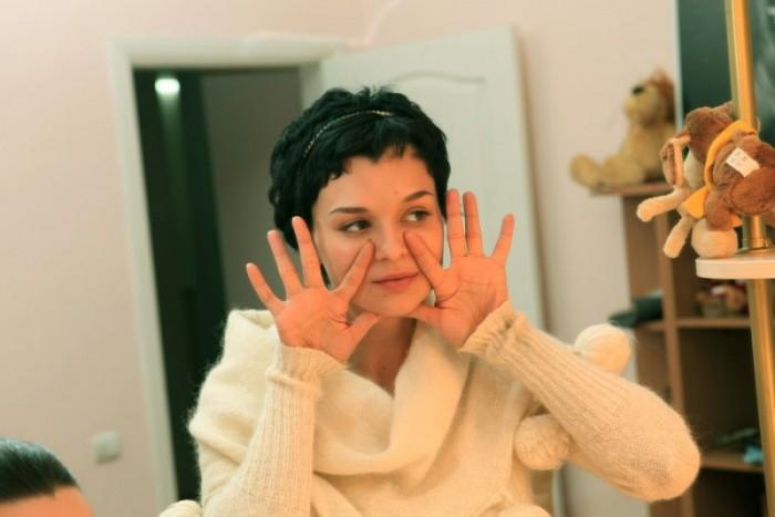 алёна даёт в домашнем видео