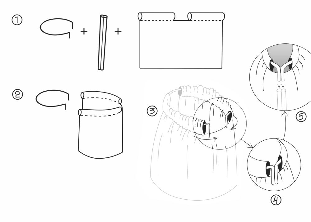 Как сделать держатель для балдахина чертежи 28