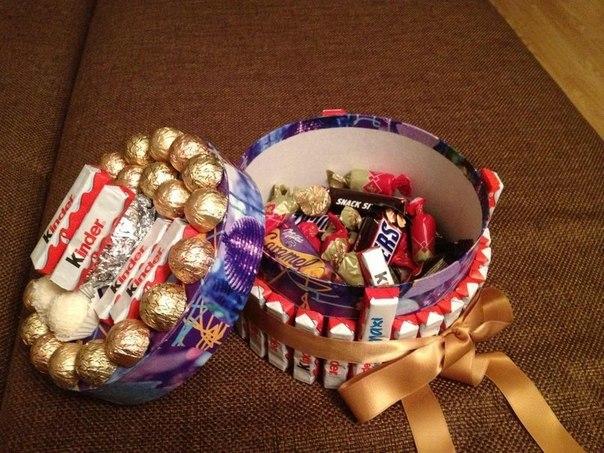 Подарки своими руками из сладостей фото
