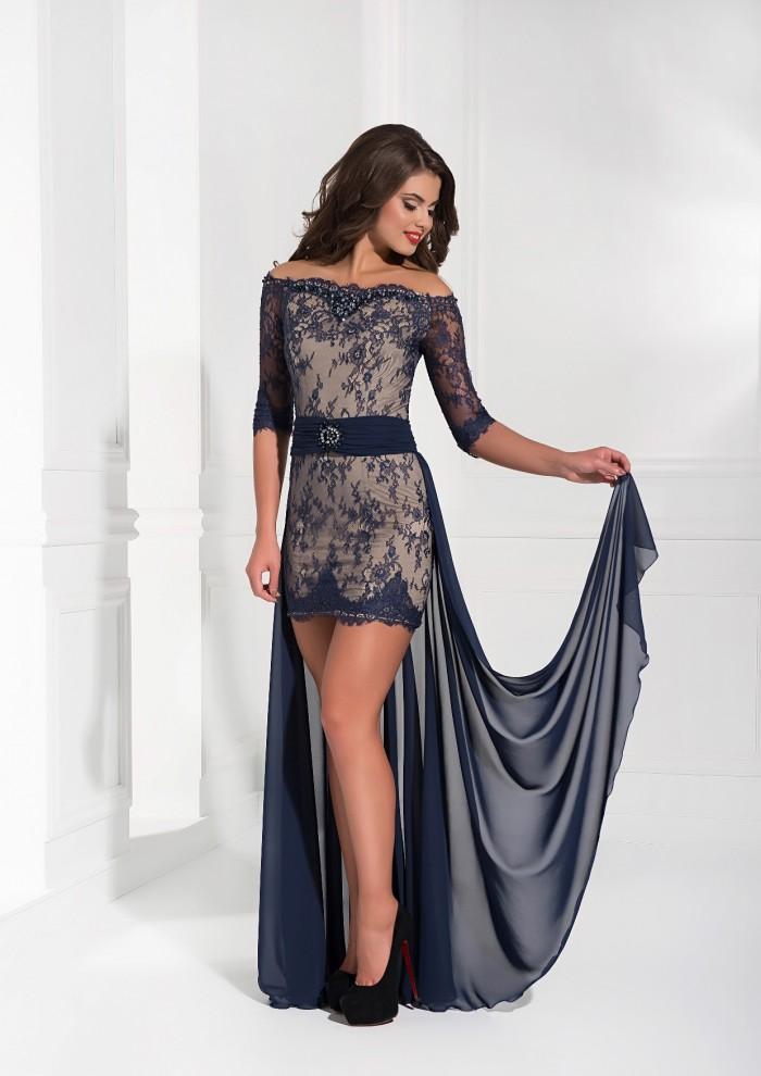 Вечернее платье короткое своими руками