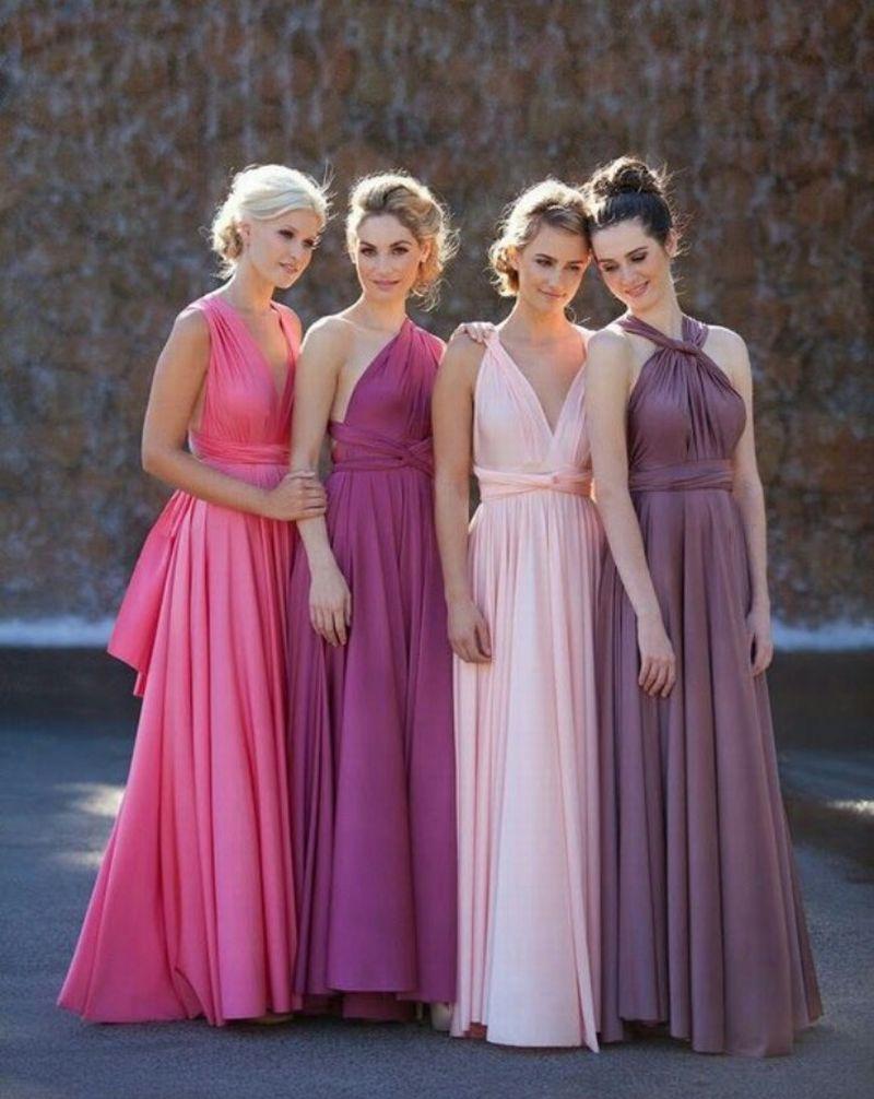 Платье трансформер: варианты вечерних платьев. Как сшить платье со 16