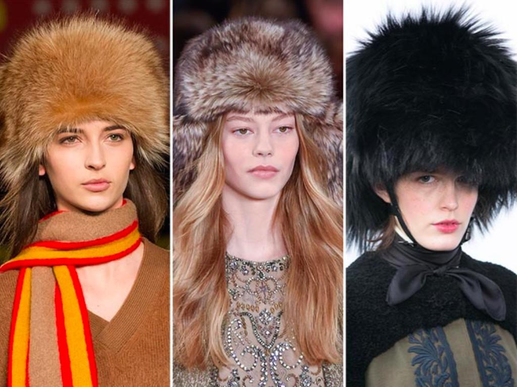 Модная Одежда Осень Зима 2017 Головные Уборы