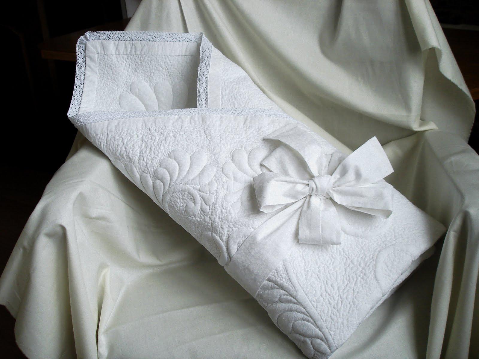 Летнее одеяло на выписку своими руками сшить 6