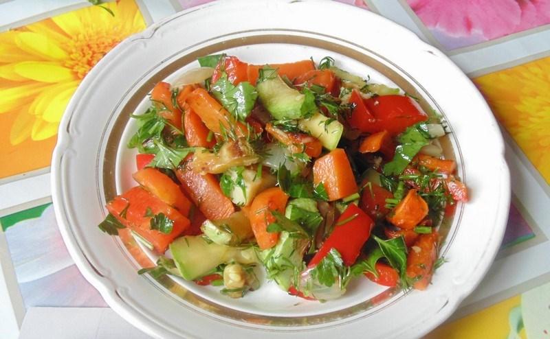 Что приготовить из кабачков салат