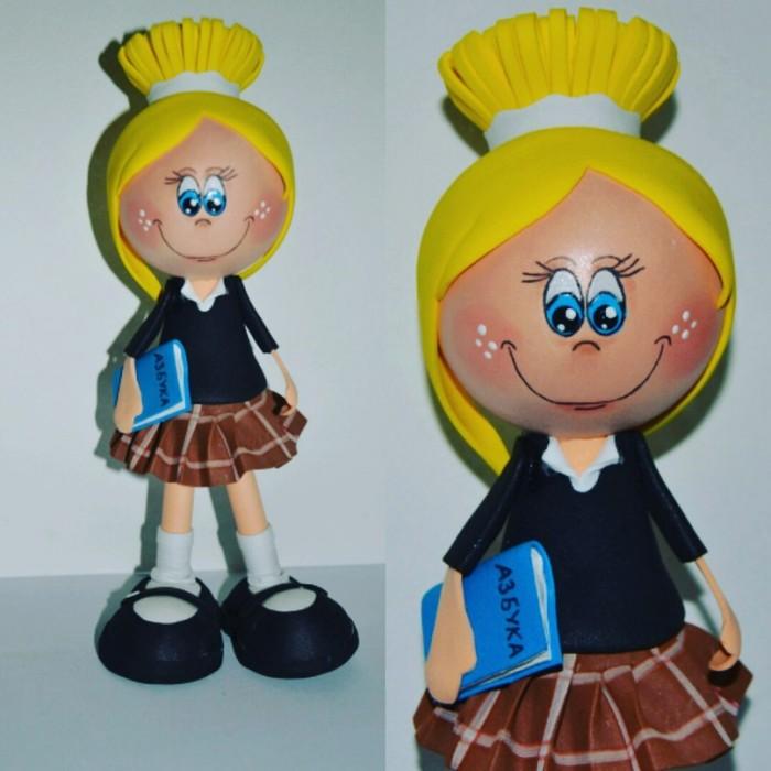 Кукол из фоамирана своими руками 62