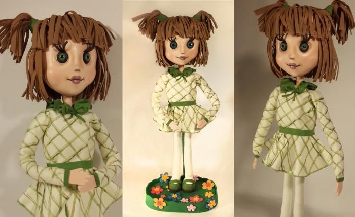 Куклы из фоамирана своими руками с пошаговым фото 26