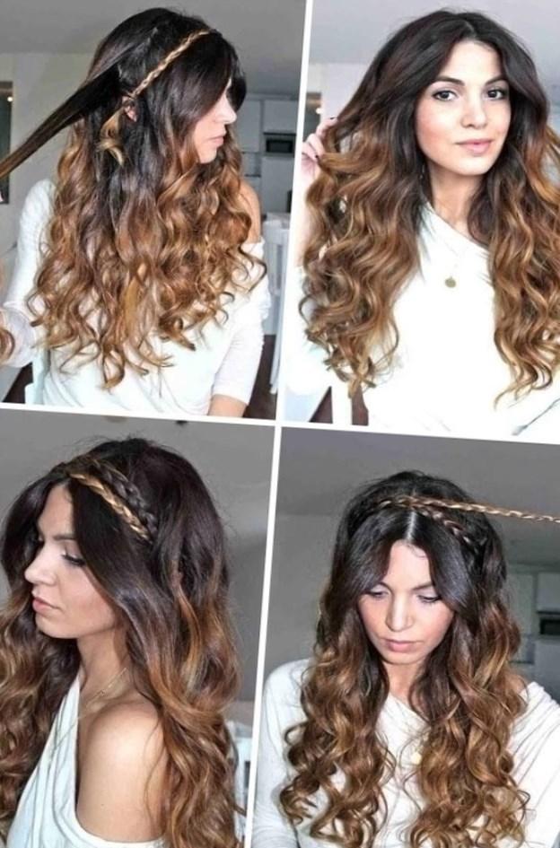 Прически из локонов на длинные волосы фото пошагово
