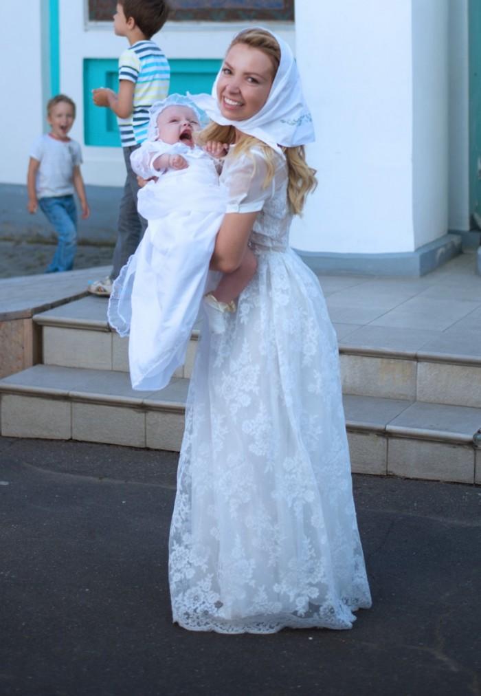 Платье для крестной мамы на крестины