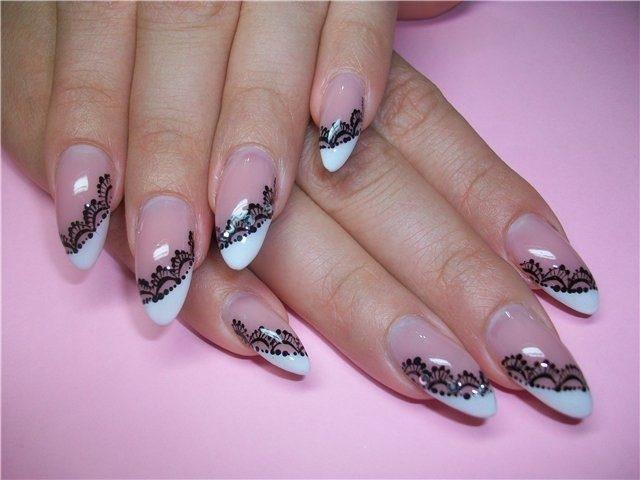 рисунки на ногтях пауки фото