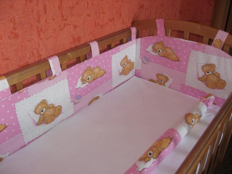 Из чего сшить бортики для детской кроватки своими руками 267