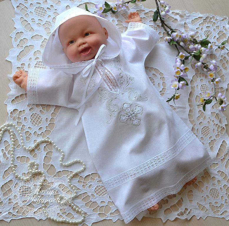 Набор для крещения для девочки своими руками