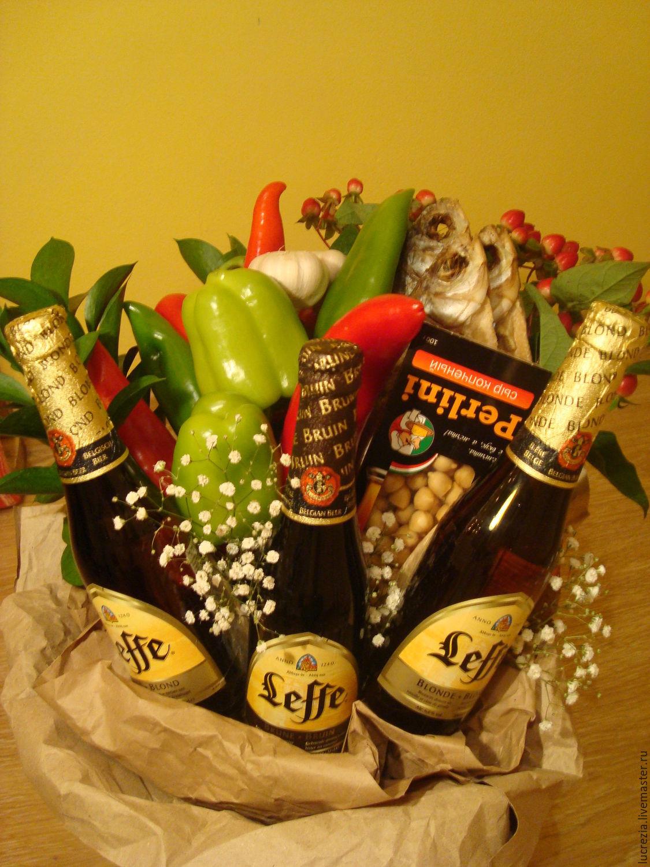 Как сделать подарок из бутылок пива 49