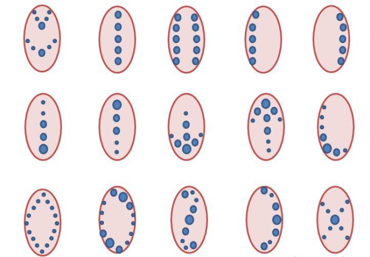 рисунки на ногтях точечные фото