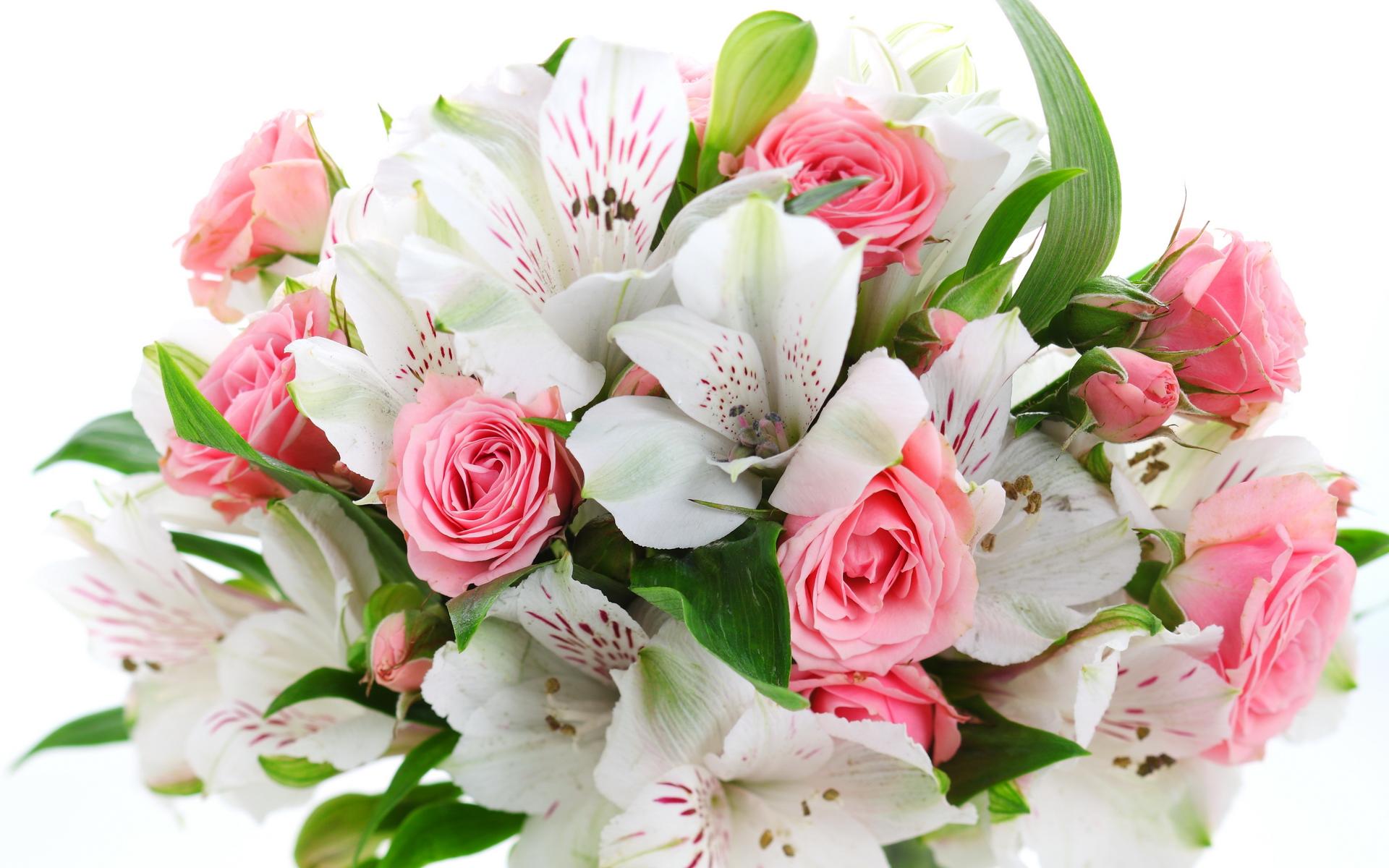 Поздравление к букету цветов 16