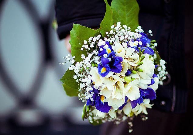 Свадебный букет невесты своими руками из живых цветов