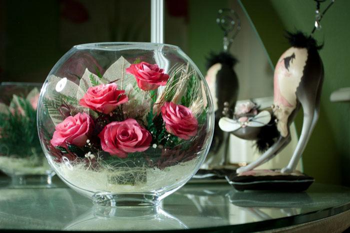 композиции из живых цветов в оазисе фото