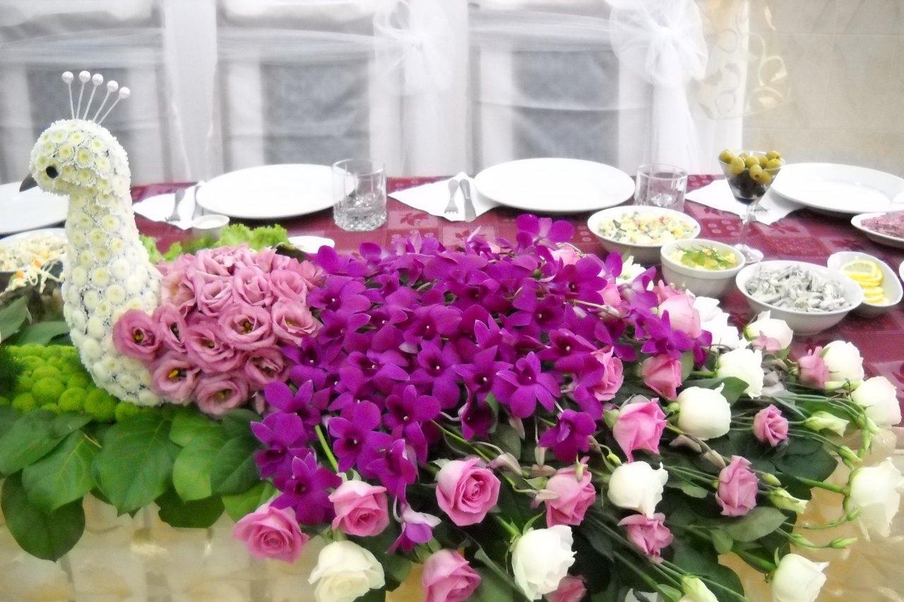 Оригинальные живые цветы