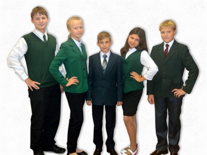 Школьная форма зеленый цвет