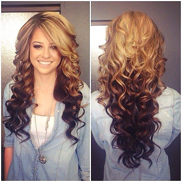 Причёска с накрученными волосами в домашних условиях