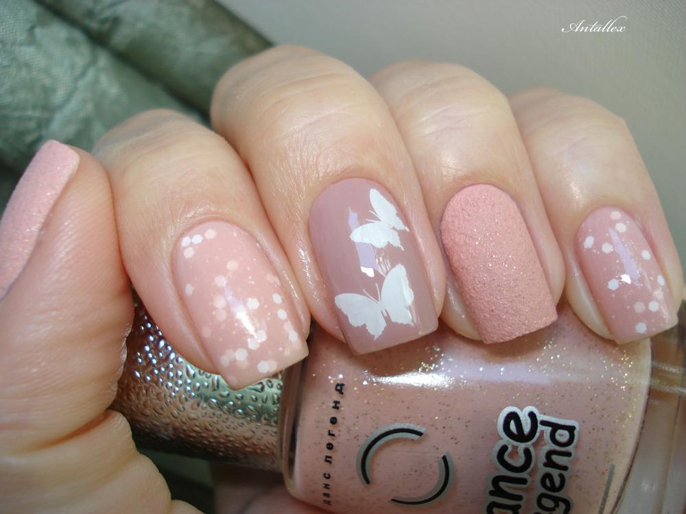 Фото ногти светлые оттенки