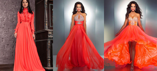 В каком платье встретить новый год