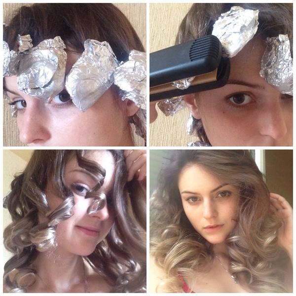 Чтобы накрутка волос держалась