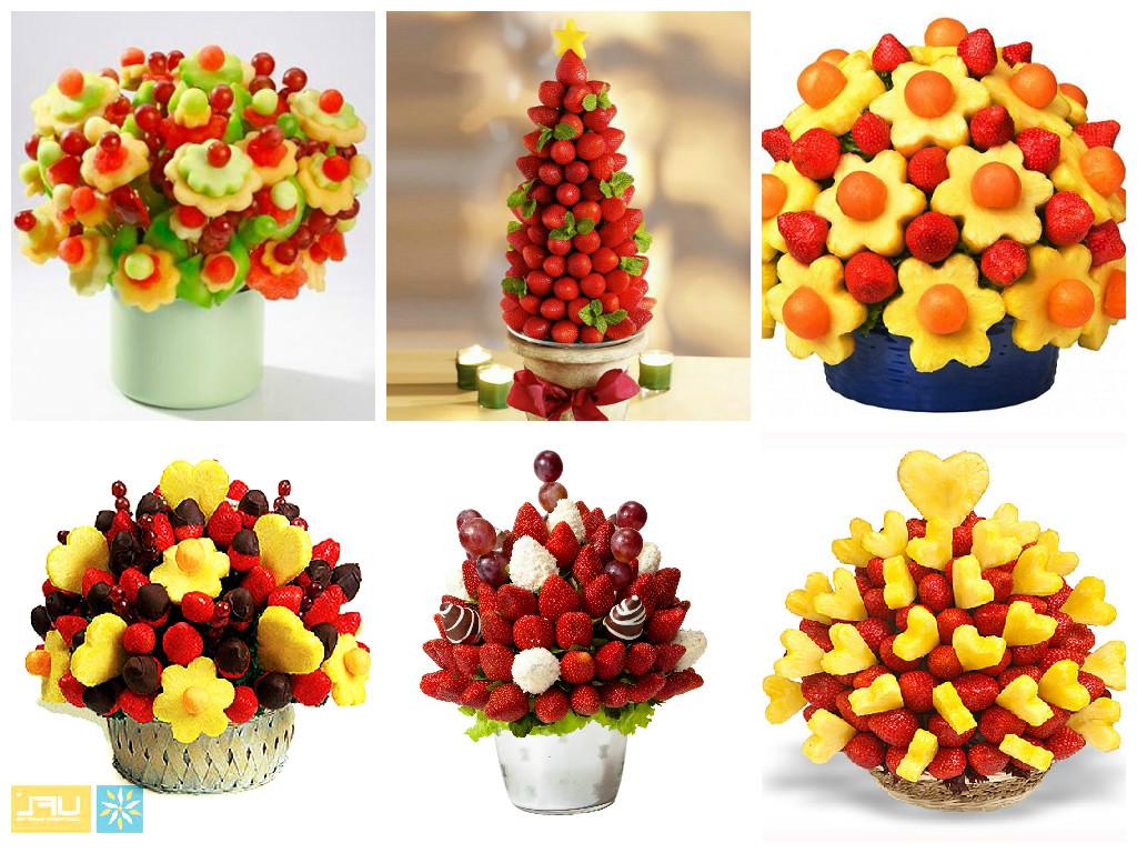 Как сделать фруктовый букет своими руками фото пошагово
