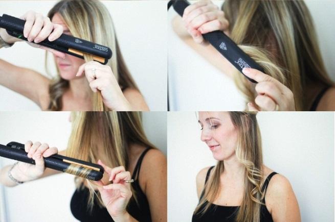 Как накрутить самой волосы на плойку