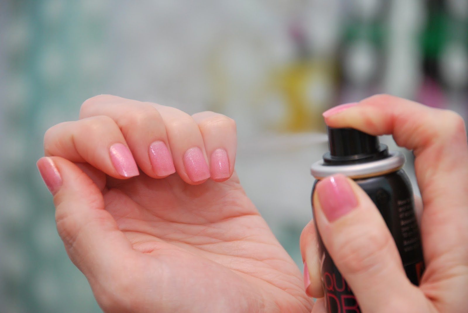 Как сделать чтобы лак высох на ногтях быстрее высох