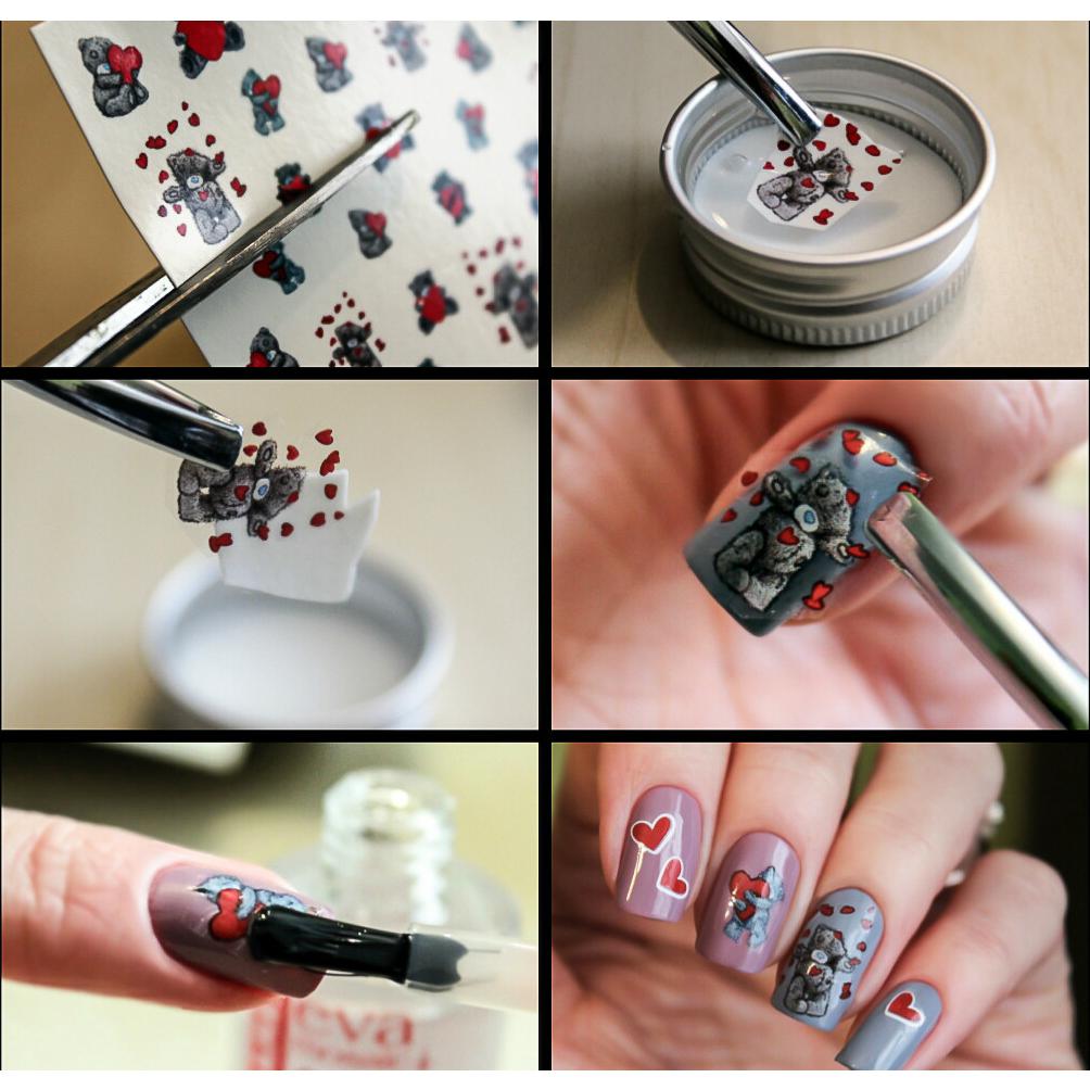 Слайдеры для ногтей своими руками