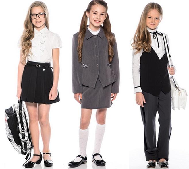 Школьная форма 2017: мода для школьников девочек