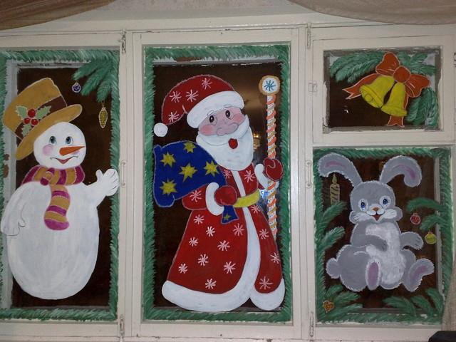 Как к Новому году украсить окна? Узоры из бумаги, рисунки, снежинки, аппликация, фигурки, вытынанки на окна на Новый год
