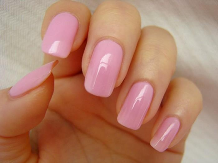Розовый маникюр - фото идей дизайна ногтей - Best Маникюр 92