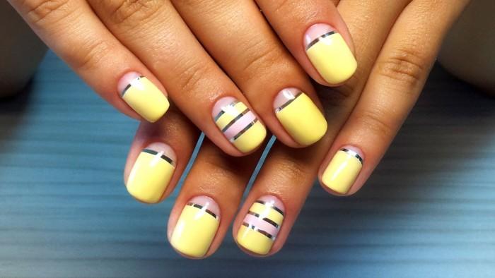 Матовые ногти дизайн острые 3