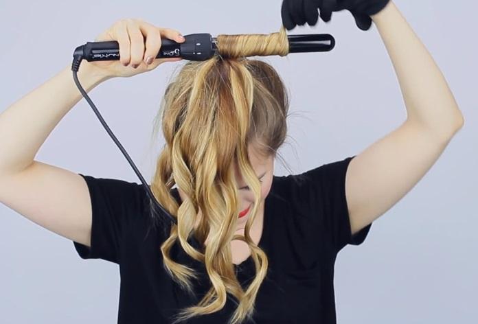 Волосы собирать в хвост сон