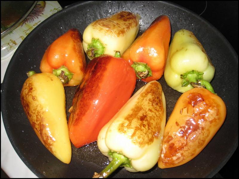 Перец болгарский обжаренный на зиму рецепты целиком