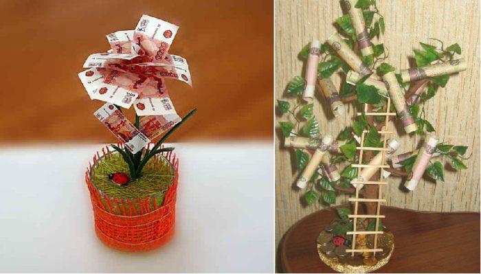 Стихи к подарку денежного дерева 376