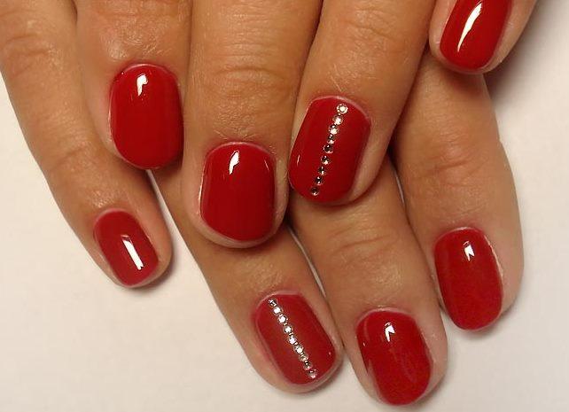 Дизайн шеллака красного цвета