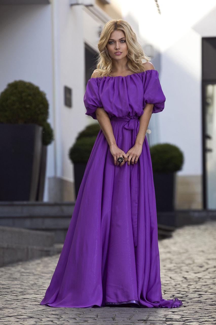 Купить Фиолетовое Платье В Спб