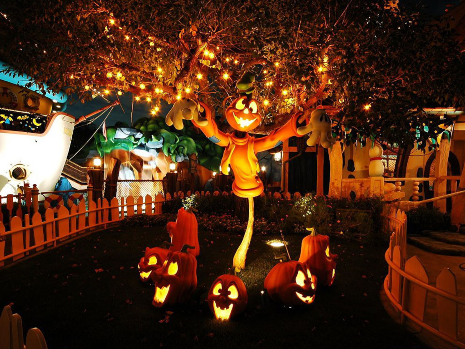 Halloween праздники