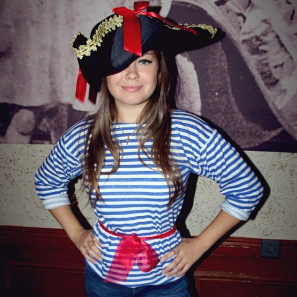 Костюм пиратки для девочки своими руками на скорую 198