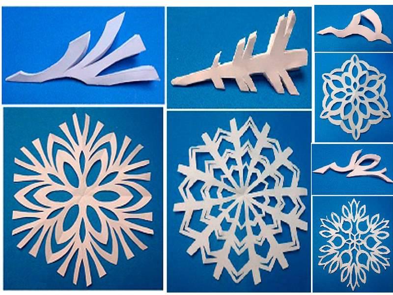 Как сделать снежинки балеринки из бумаги своими руками поэтапно