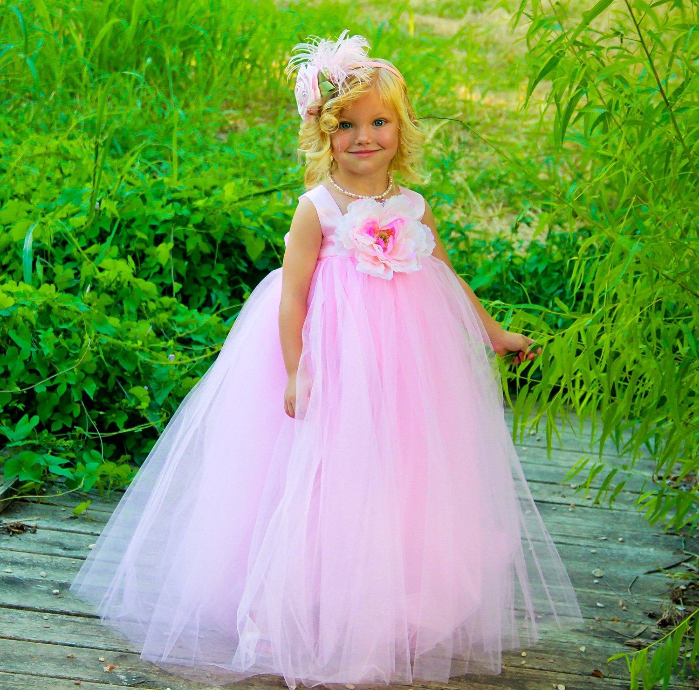 Платья детское пышное фото